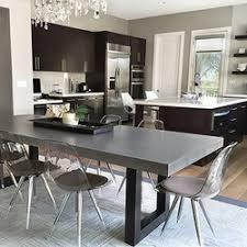 concrete dining table. Zen Concrete Dining Table | Tables Trueform