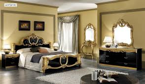Black and gold furniture Royal Tap To Expand Futonland Barocco Black With Gold Camel Bedroom Set By Esf