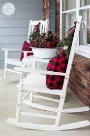 rocking chair on porch drawing. 34 outdoor christmas decorations - ideas for outside porch decor rocking chair on drawing