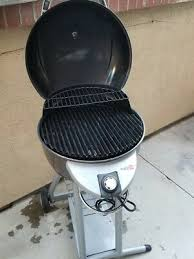 char broil patio bistro gas grill tru infrared slightly used working