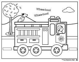 Small Picture Fire Truck Coloring Page olgusacom