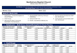 Sample Budget Timeline Image Result For Church Outreach Plan Template Director Of 8