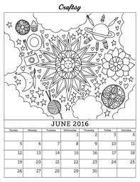 january 2016 printable coloring calendar craftsy