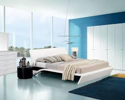 Platform Bed Bedroom Set Style Glossy Bedroom Set W Platform Bed 44b203set