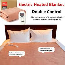 electric heated over blanket sofa bed throw fleece warm soft luxury 160x130 cm smart home waterproof