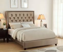 Luxurious Fontaine Upholstered Tufted Bed Mattress King Of Las Vegas