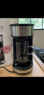 Makes a special whipped topping instantly for cappuccino, latte, mocha, frappe, coffee and more. Chefman Froth Brew Coffee Maker And Milk Frother Single Serve Brewer Ebay