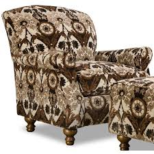 traditional brown black accent chair prodigy rc willey furniture