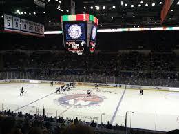 Barclays Arena Hockey Seating Chart New York Islanders Game At Nassau Veterans Memorial Coliseum