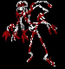 one of unknowns hands swipe at aaron ) - Tom | Pixel Art Maker