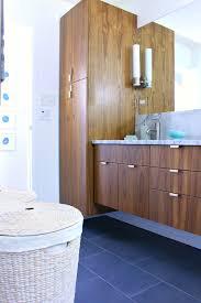 bathroom furniture dual vessel sinks teal brown master contemporary mid century bathroom vanity round metal ceramic drawers mirrored marble countertop 48