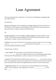 Use these sample loan agreement letters between friends as templates for your formal agreement letter. Loan Agreement Template Download Loan Agreement Sample