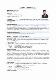 Civil Engineer Resume Resume Format Civil Engineer Elegant Civil Engineering Resume Format 20