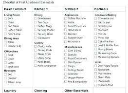 Free The Grocery Lists Printable First Apartment Essentials ...