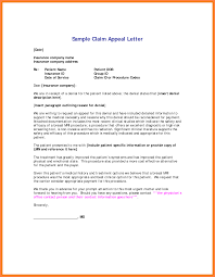 Insurance Appeal Letter Template Best Business Plan Template