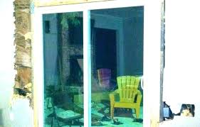 french door glass replacement cost sliding pane repl