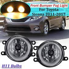2011 Highlander Fog Light Bulb Amazon Com 2pcs 12v H11 Fog Light For Toyota Sienna Avalon