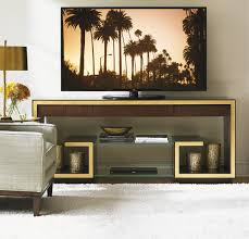 tv design furniture. Walnut TV Console * Gold Leaf Detailing Hollywood Finish 3 Drawers H: 30 W: 72 D: 18 Inches Comprehensive Suite Of Partner Same Design Furniture Tv I