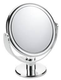 floxite mirror. floxite fl-83fmc 8x magnifying / 3x vanity mirror, chrome, frosted white mirror