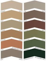 Colour Charts Powerclean Roof Restoration