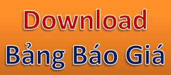 Kết quả hình ảnh cho download bang gia