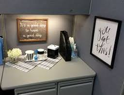 Decorate office cubicle Simple Chose To Go With Black And White With Accents Of Blue And Metalics Bradpikecom 18 Office Cubicles Decorating Ideas Diy Cubicle Decorations Which
