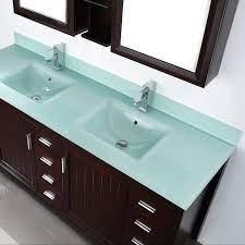 Upc Double Sink White Rectangle Bowl Glass Bathroom Countertop Buy High Quality Art Vanity Counter Top Wash Basin White Glass Countertop Product On Alibaba Com