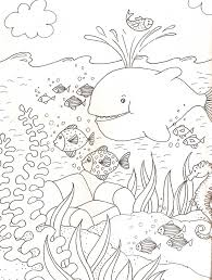 Coloriage Les Animaux De La Mer L L L L L L