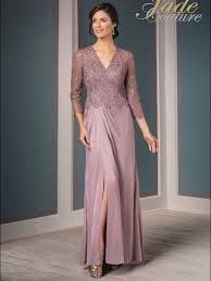 Jade Couture K188015 V Neck Mother Of The Bride Dress
