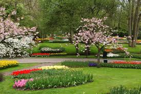 difference between garden and park