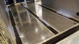 aluminum tread plate flooring 26 per linear foot