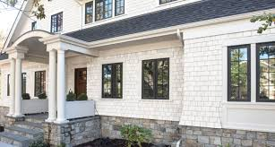 shingle siding house. NuCedar Shingles Accurately Capture The Natural Beauty And Charm Of Precisely Tapered, Resquared Rebutted Cedar Shingles. With No Two Produced Shingle Siding House