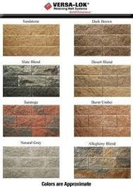 Versa Lok Block Color Chart 92 Best Cement Walls Images Cement Walls Cinder Block