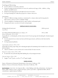 example of a written resume  examples of resumes