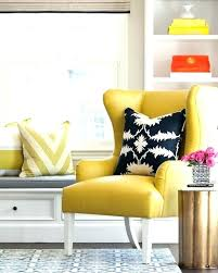 ikea strandmon wing chair wing chair charming yellow chair yellow chair with black and white chevron