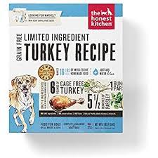 Honest Kitchen Limited Ingredient Turkey Dog Food Recipe 4 Lb Box   Marvel