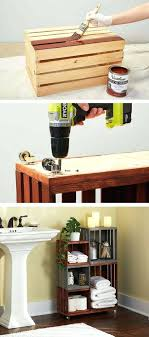wood crate bookshelf instructions furniture ideas projects wall storage diy