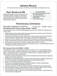 1 Med Surg Nurse Resume Templates Try Them Now Myperfectresume Med