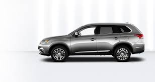 2018 mitsubishi. wonderful mitsubishi driver side exterior 2018 mitsubishi outlander throughout mitsubishi
