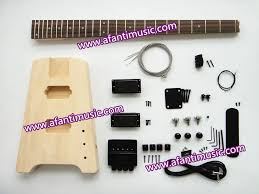 afanti headless style diy electric bass kit guitar kit awt 064 in guitar from sports entertainment on aliexpress com alibaba group