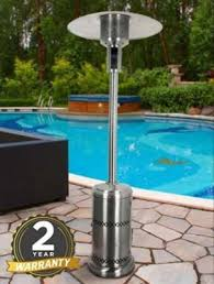 patio heaters outsunny electric parasol