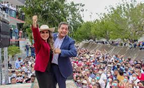 Evelyn Salgado receives proof as governor-elect of Guerrero - Ruetir