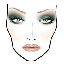 Face Charts Beauty House The Following Face Charts