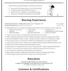 Lpn Resume Sample Delectable Lpn Resume Sample Without Experience Resumes Nursing New Graduate