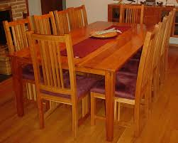 impressive cherry wood dining room table 22 chairs with erfly leaf makeover legs seats solid cherry wood dining room