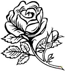 Rose Coloring Pictures Printable Roses Coloring Pages Printable Rose