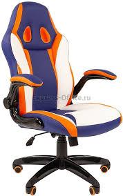 Игровое <b>кресло Chairman Game 15</b> для персонала по цене 10790 ...