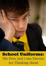 school uniforms the pros and cons parents are thinking about school uniforms have many pros and cons but do uniforms do more harm than good