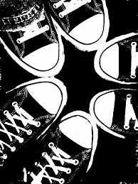 converse shoes black and white clipart. running shoe print clip art · black and white dress converse shoes clipart