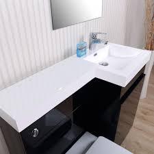 bathroom double sink vanity units. Corner Vanity Unit Double Sink Grey Bathroom Units